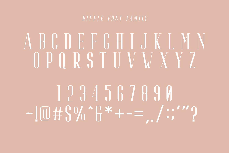 Riffle Free Font