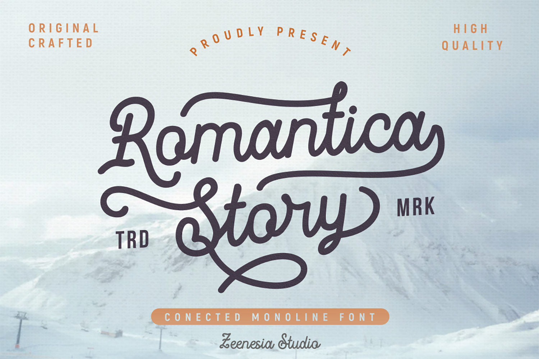 Romantica Story Free Font