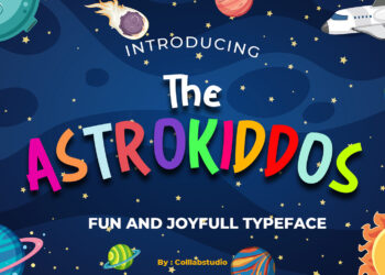 The Astrokiddos Free Font