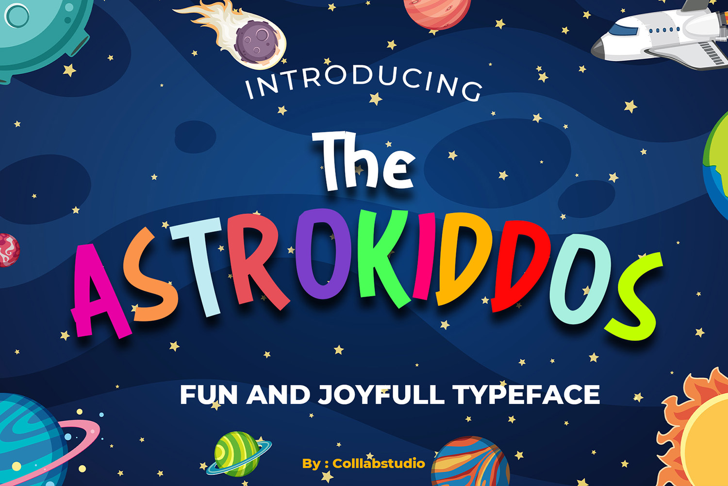 The Astrokiddos Free Font