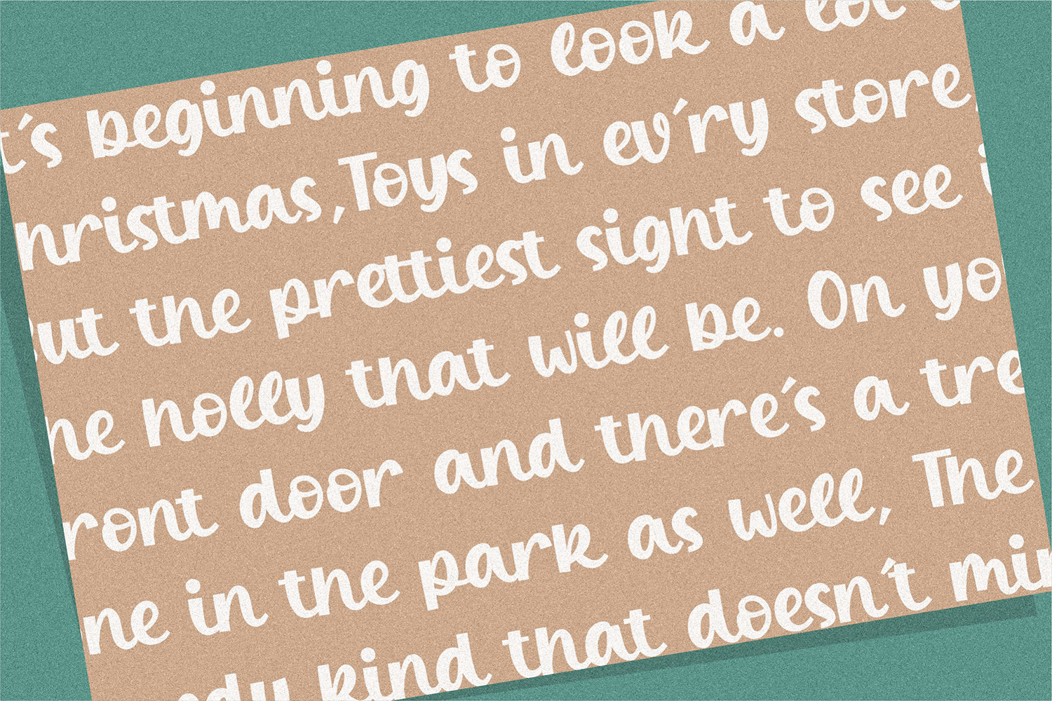 Winter Candle Free Font