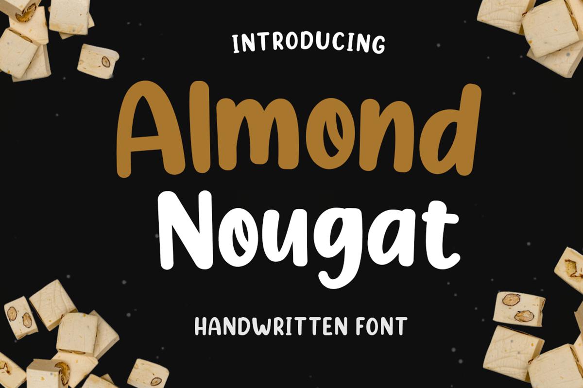 Almond Nougat Free Font