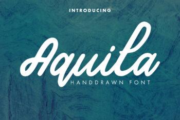 Aquila Free Font