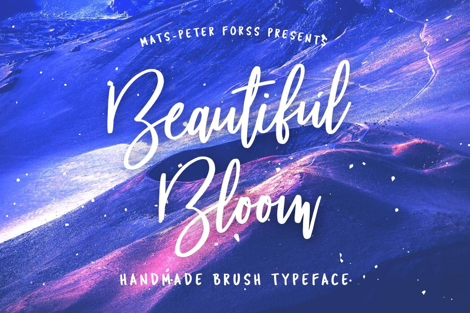 Beautiful Bloom Free Font