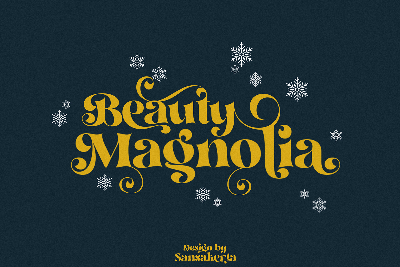 Beauty Magnolia Free Font