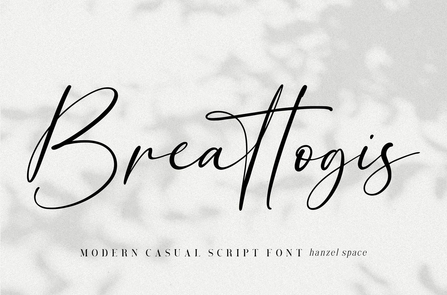 Breattogis Free Font
