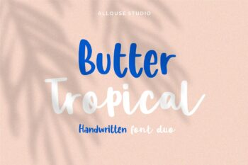 Butter Tropical Free Font