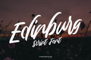 Edinburg Free Font