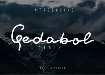 Gedabol Free Font