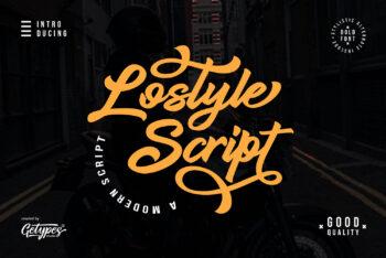 Lostyle Free Font
