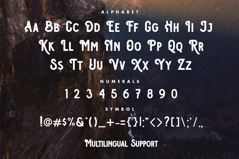 Osgiliath Free Font