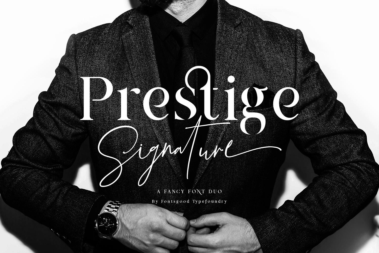 Prestige Signature Free Font