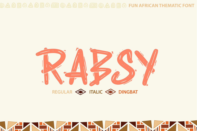 Rabsy Free Font