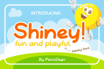 Shiney Display Free Font