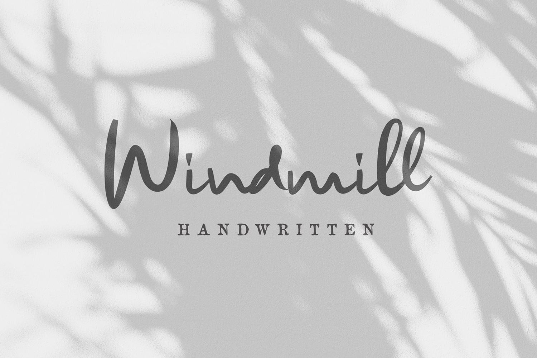 Windmill Free Font