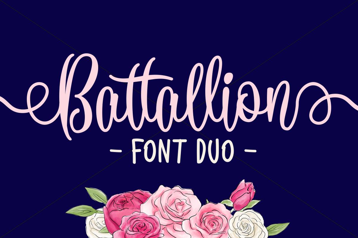 Battallion Free Font