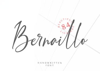 Bernaillo Free Font