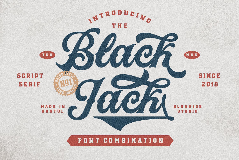 Black Jack Free Font