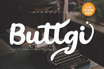 Buttgi Free Font