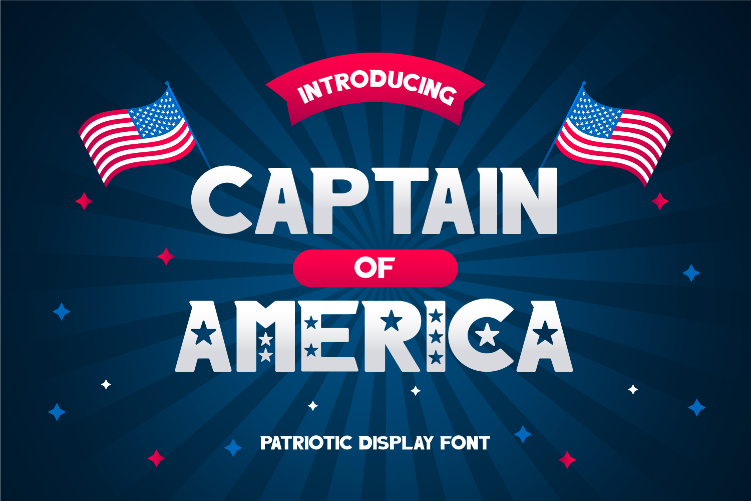 Captain of America Free Font