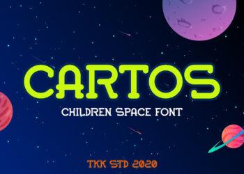 Cartos Free Font