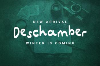 Deschamber Free Font