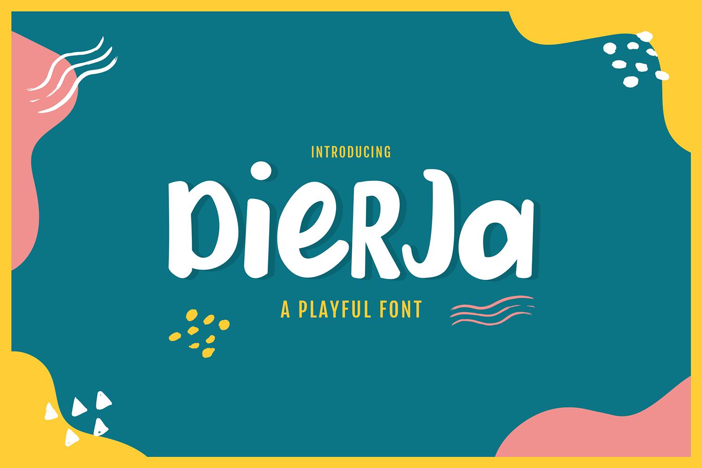 Dierja Free Font