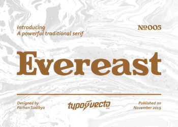 Evereast Free Font