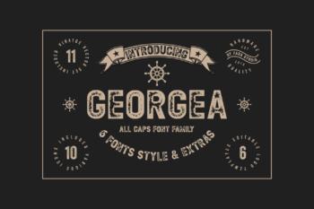 Georgea Free Font