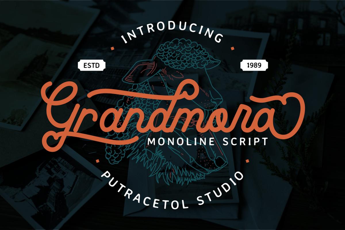 Grandmora Free Font