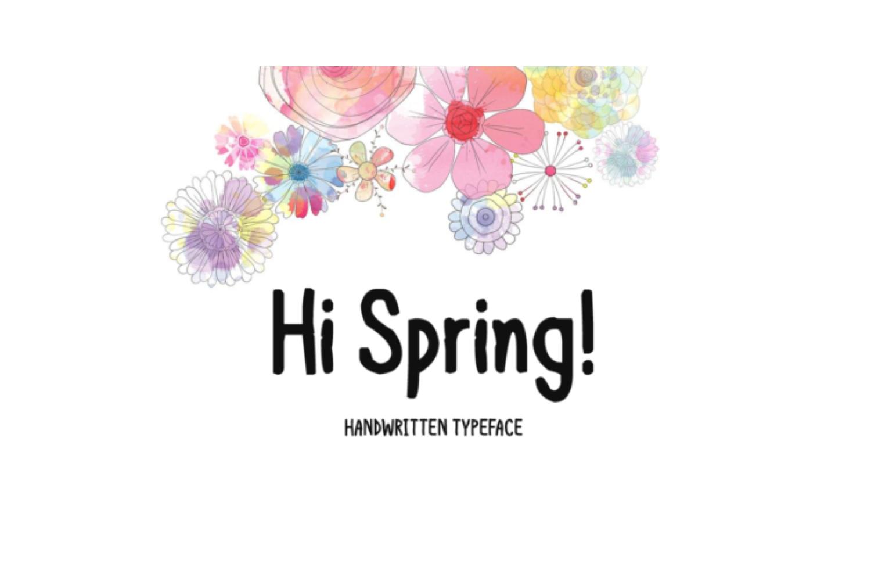 Hi Spring Free Font