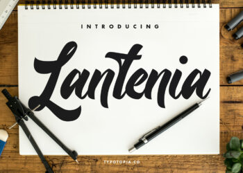 Lantenia Free Font