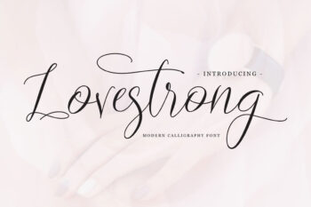 Lovestrong Free Font