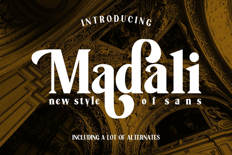 Madali Free Font