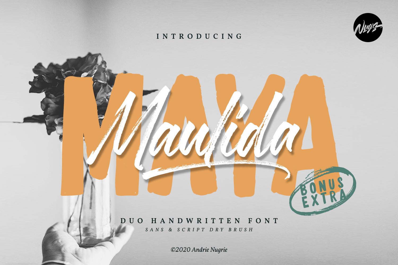 Maulida Maya Free Font