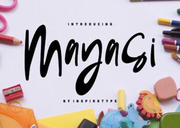 Mayasi Free Font
