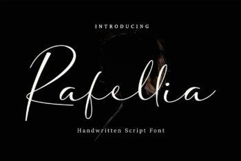 Rafellia Free Font