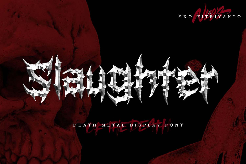Slaughter Free Font