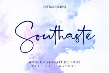 Southaste Free Font