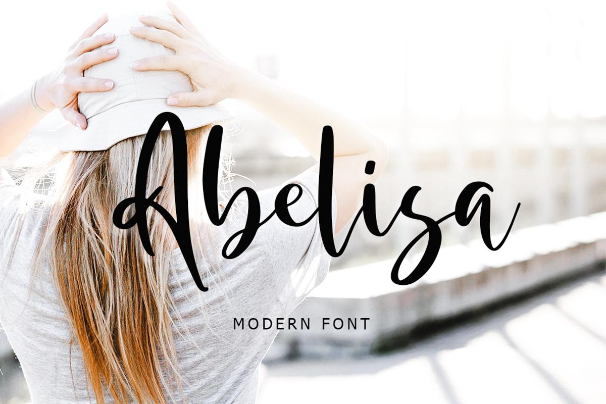 Abelisa Free Font