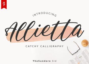 Allietta Free Font