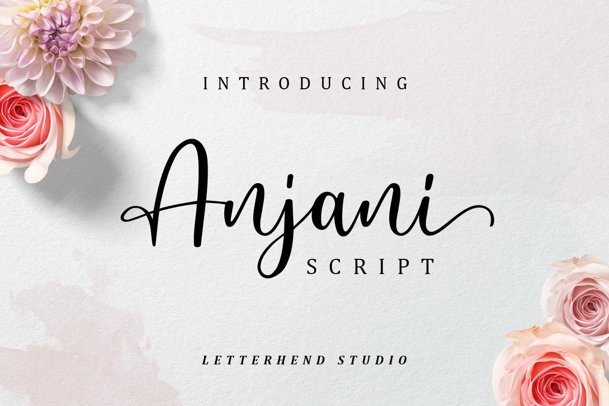 Anjani Free Font