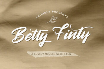 Betty Finty Free Font
