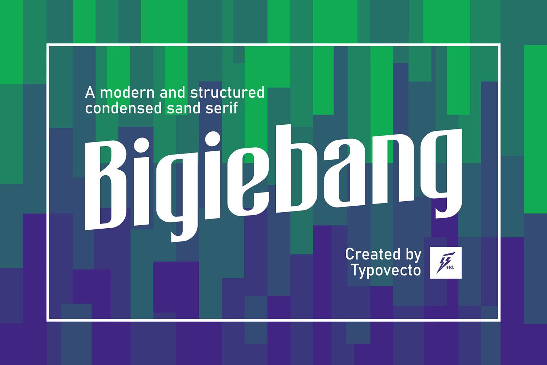 Bigiebang Free Font