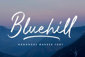 Bluehill Free Font