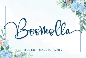 Boomolla Free Font