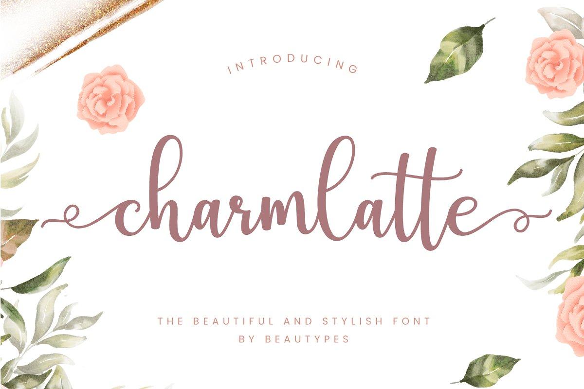 Charmlatte Free Font