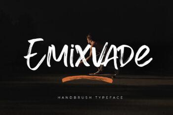 Emixvade Free Font