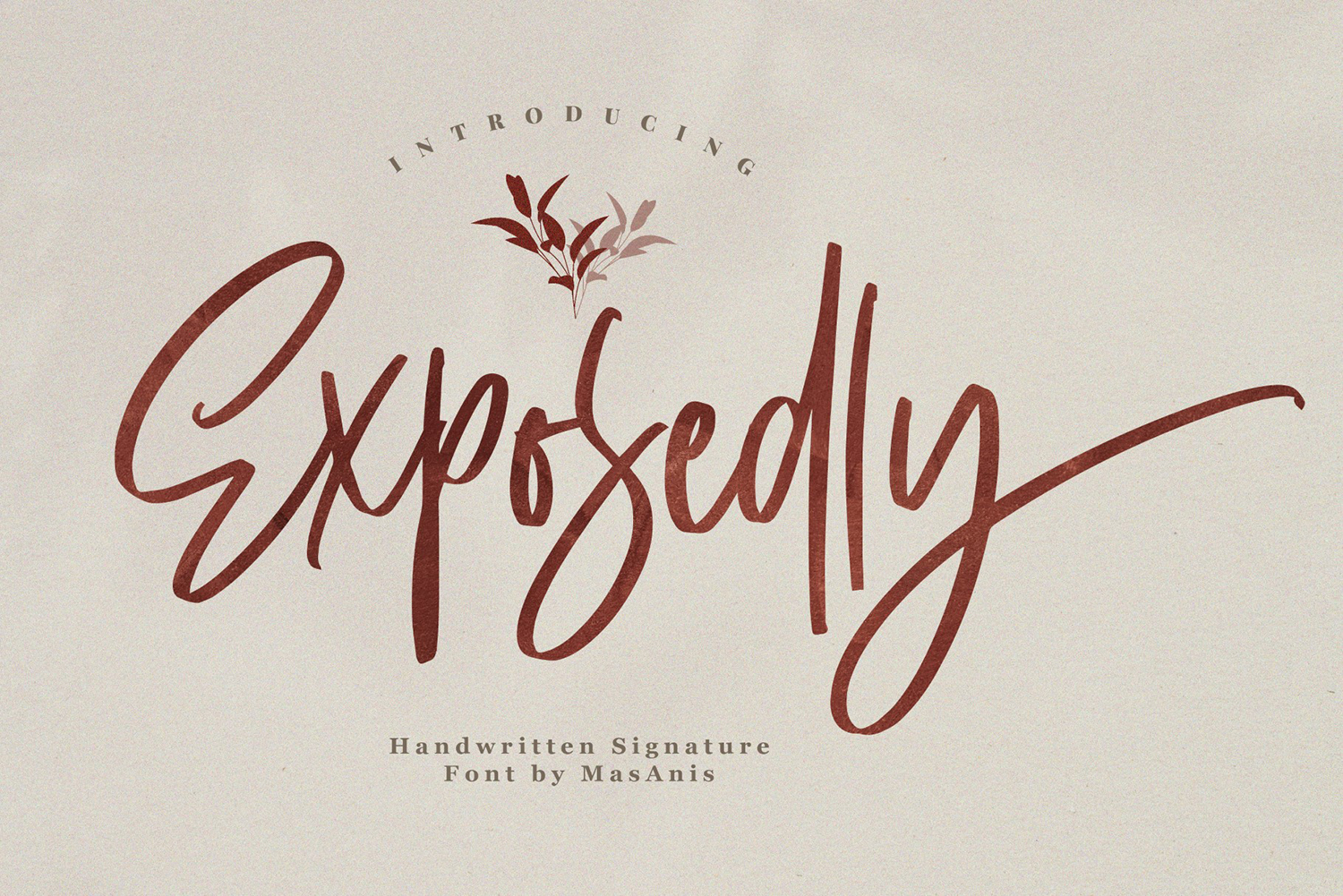 Exposedly Free Font