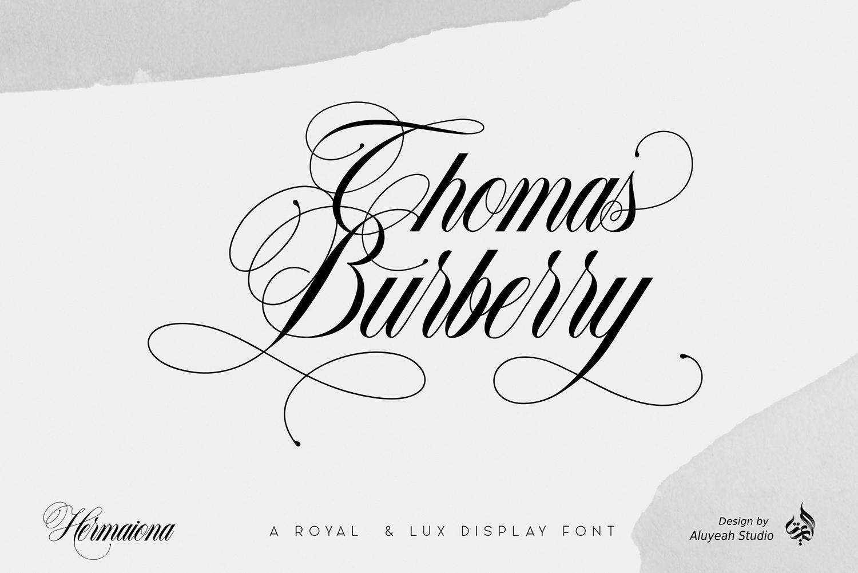 Hermaiona Free Font